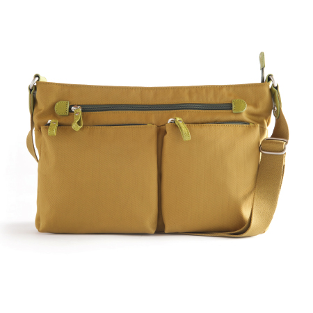 ZIP TOP CROSSBODY NYLON