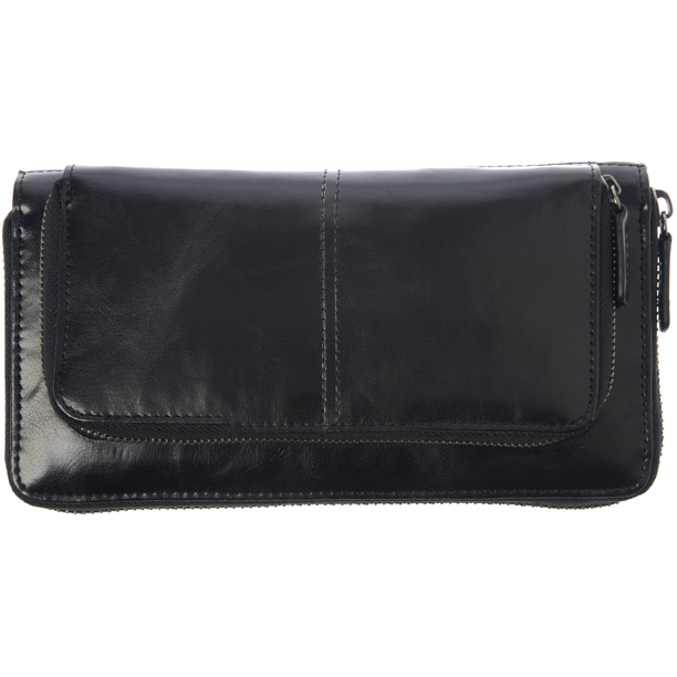 Shiraleah Handbags: Harper zip wallet - Black