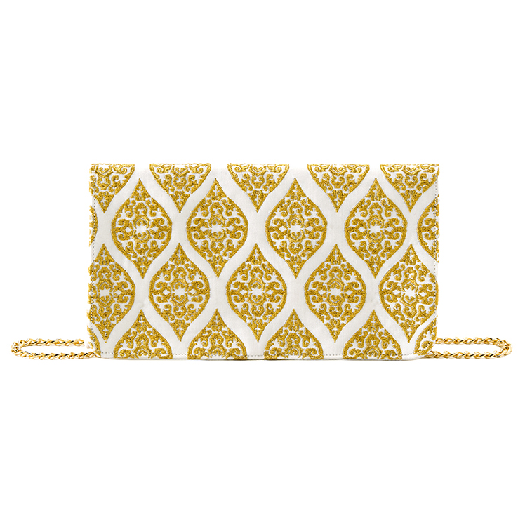 Aminah cross-body clutch
