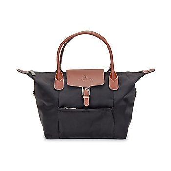 Cabas Handbag with Long Strap
