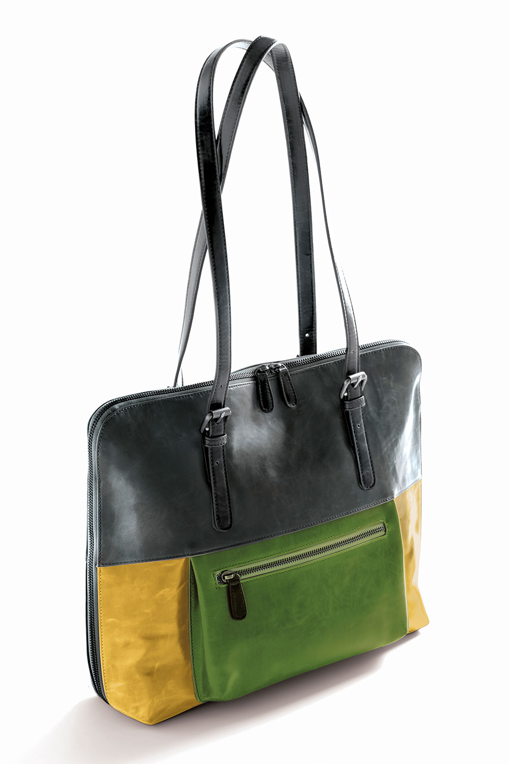 harper brief bag - citrus