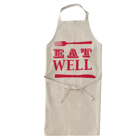 Shiraleah Home Accessories: eat well apron