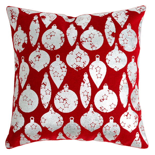 ornaments square pillow