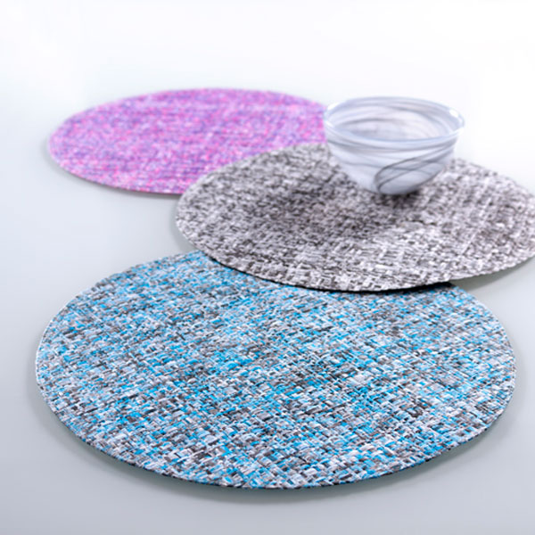 madrid round placemat