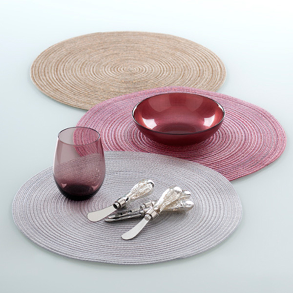 reims round placemat