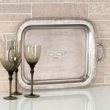 Shiraleah Home Accessories: celebrer la vie tray