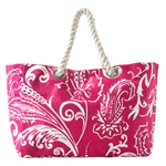 chelsea beach tote - berry