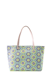 aisha city tote - lime