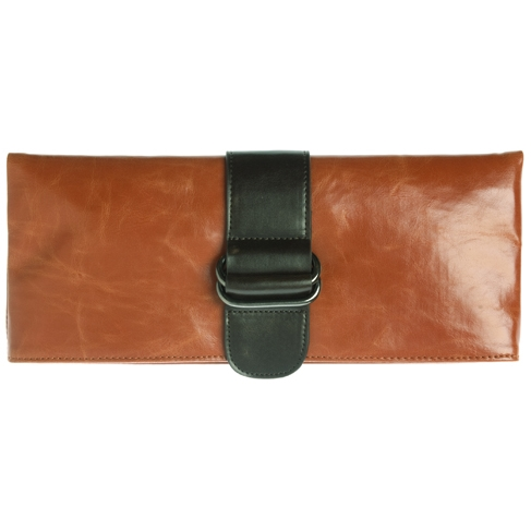Shiraleah Handbags: Harper clutch - Orange