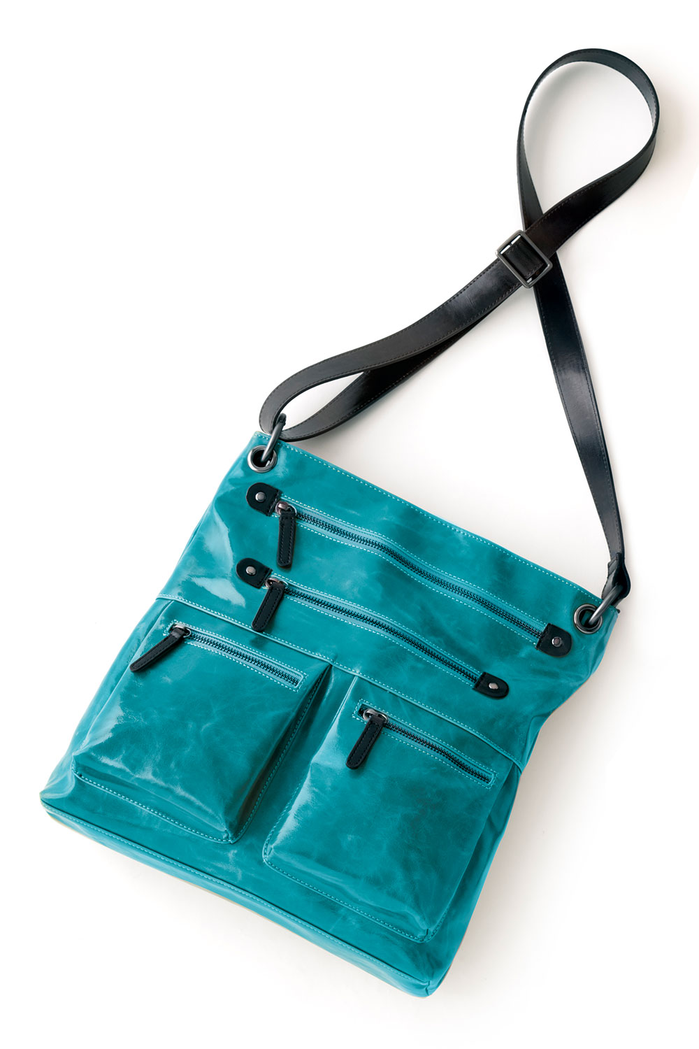 Shiraleah Handbags: Harper cross body bag - Aqua