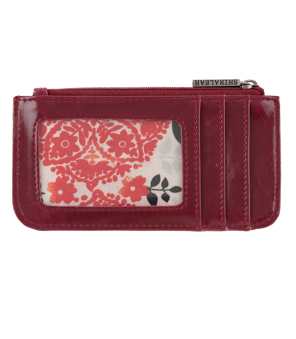 Shiraleah Handbags: Harper card case - Berry