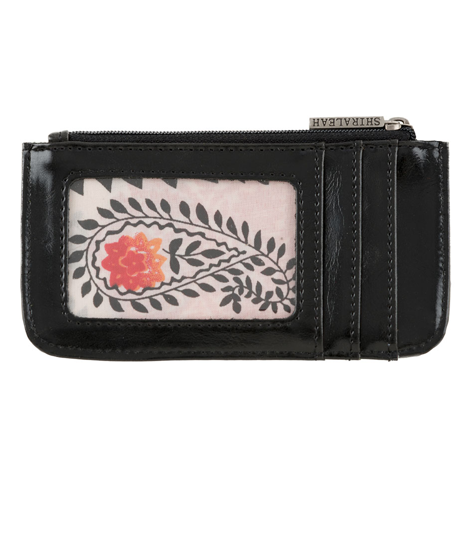 Shiraleah Handbags: Harper card case - Black