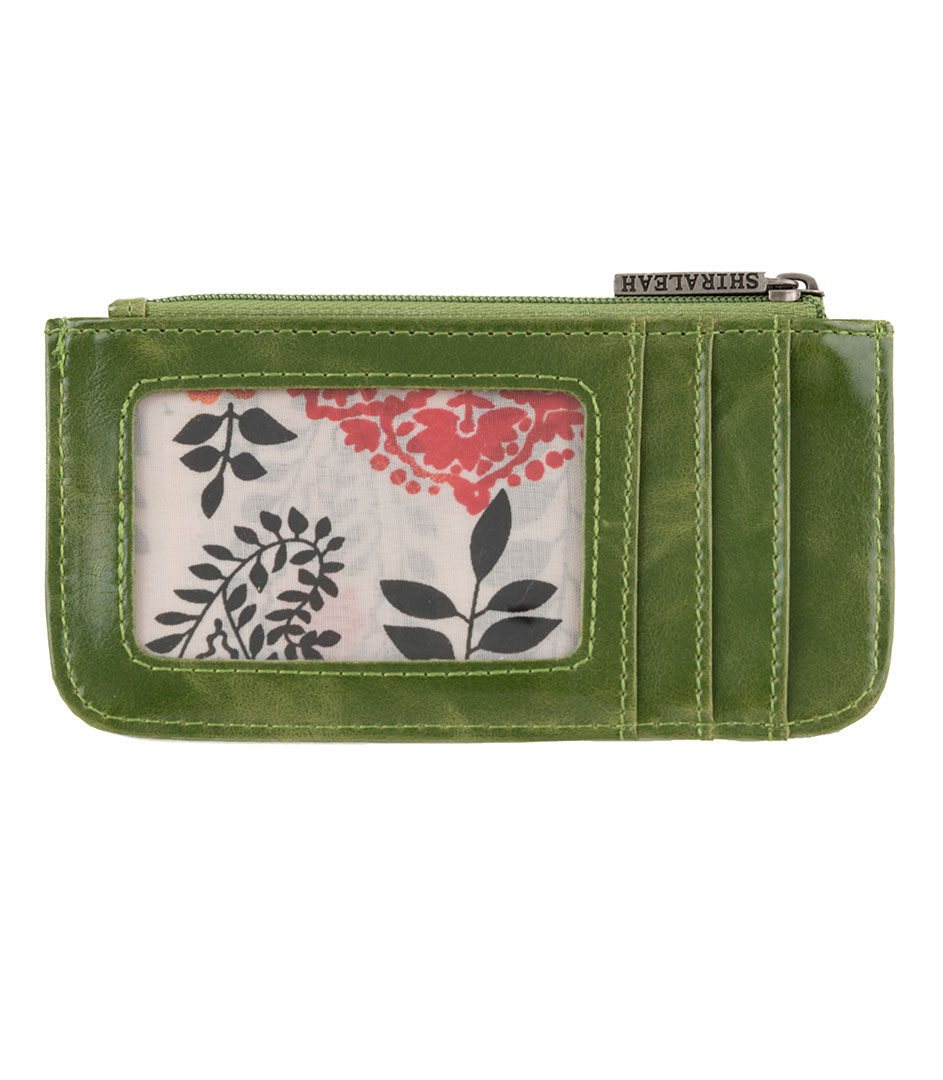 Shiraleah Handbags: Harper card case - Leaf