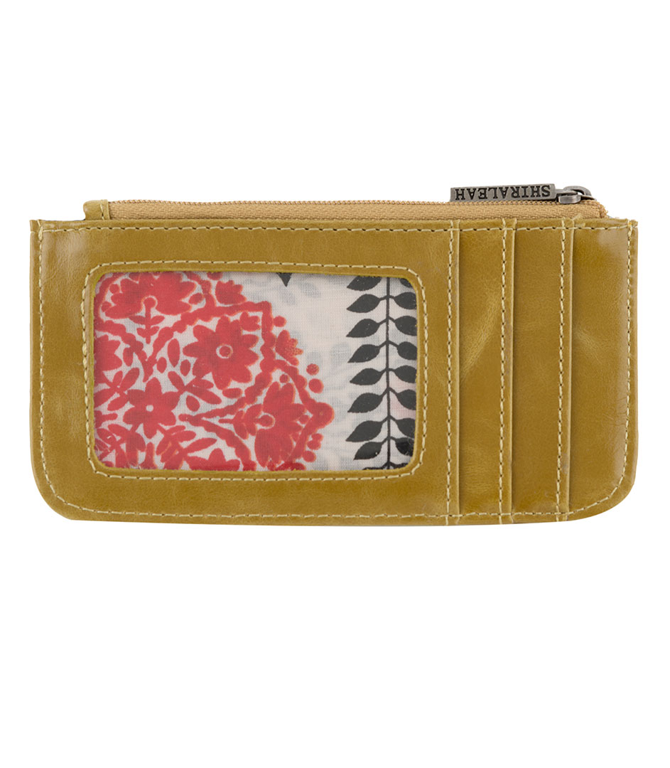 Shiraleah Handbags: Harper card case - Mustard