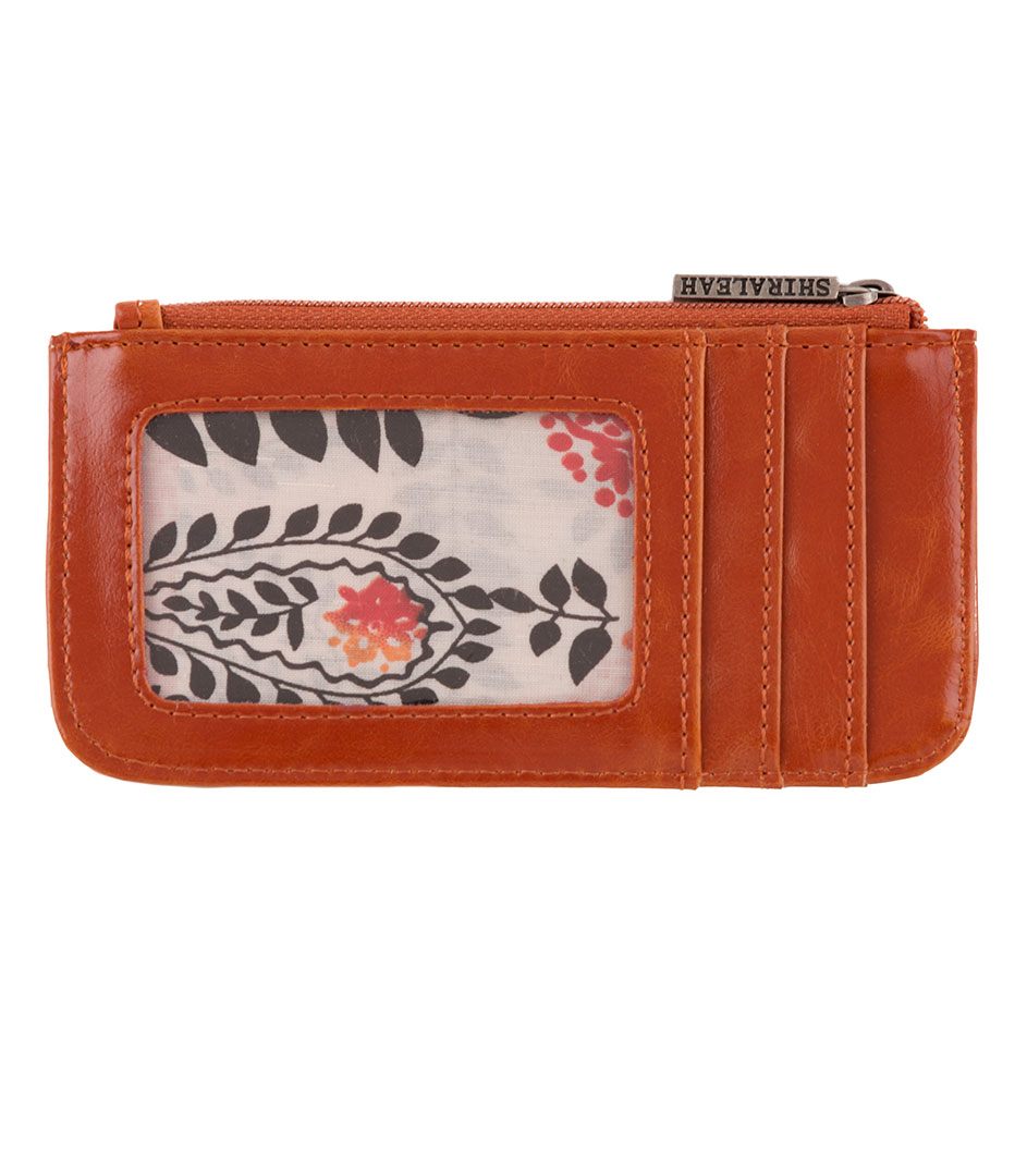 Shiraleah Handbags: Harper card case - Orange