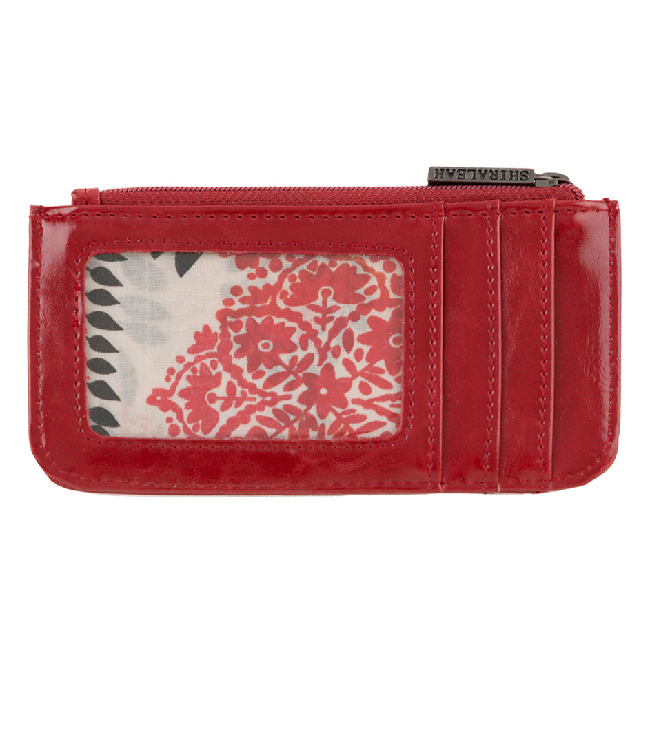 Shiraleah Handbags: Harper card case - Pomegranate