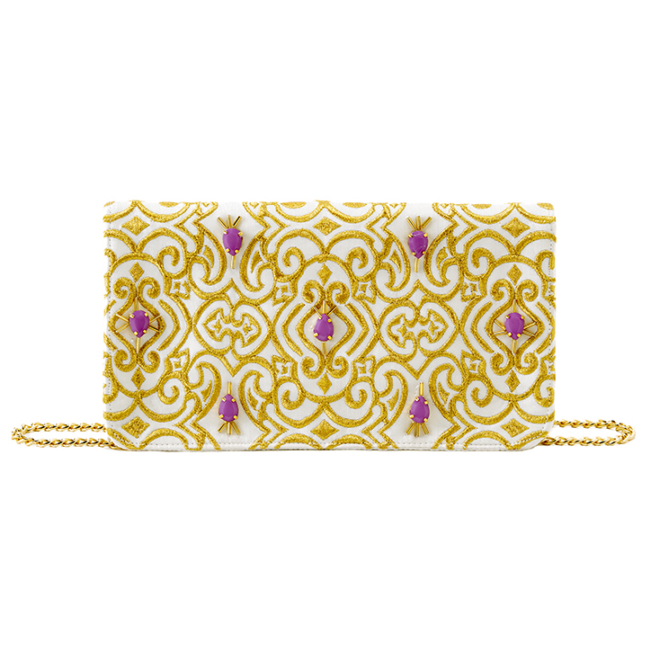 Enur cross-body clutch