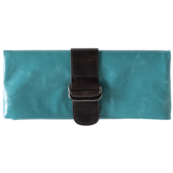 Shiraleah Handbags: Harper clutch - Aqua