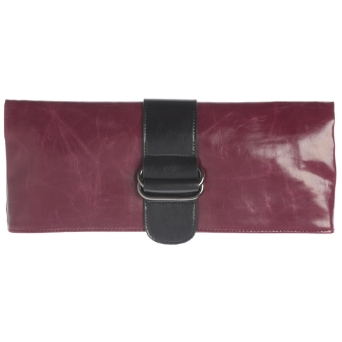 Shiraleah Handbags: Harper clutch - Berry