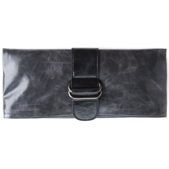 Shiraleah Handbags: Harper clutch - Graphite