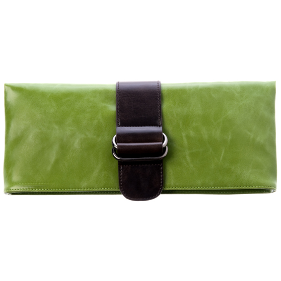 Shiraleah Handbags: Harper clutch - Leaf