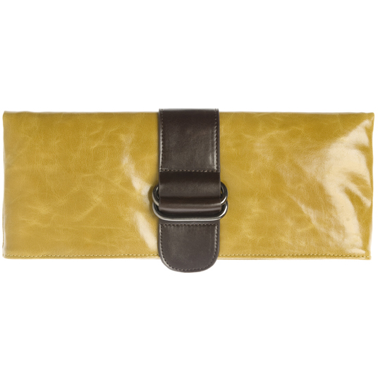 Shiraleah Handbags: Harper clutch - Mustard