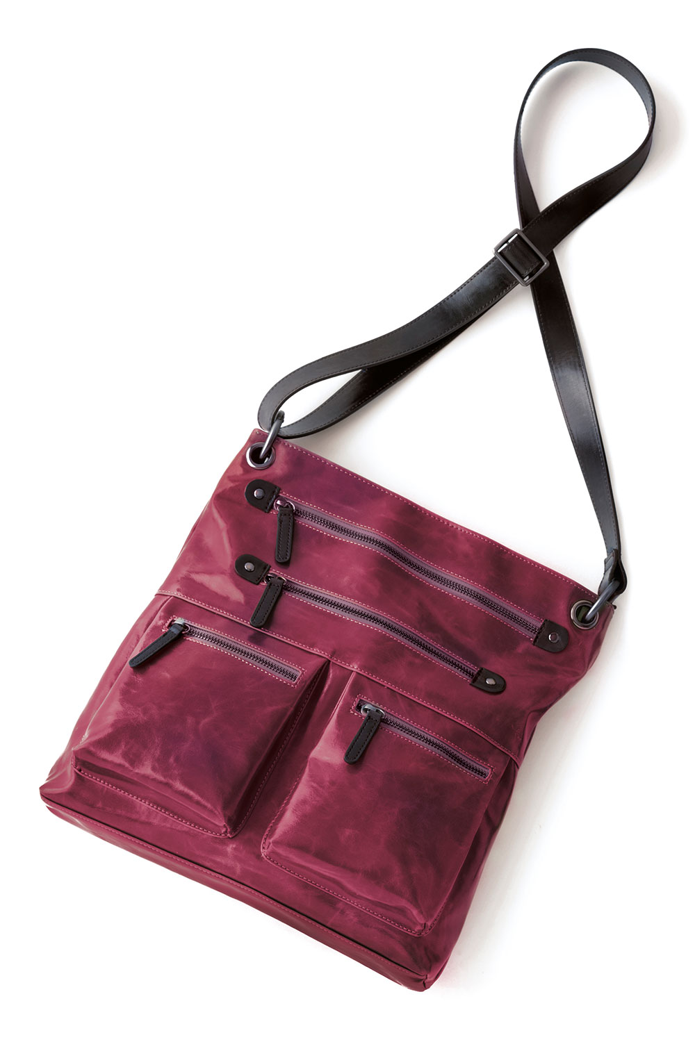 Shiraleah Handbags: Harper cross body bag - Berry