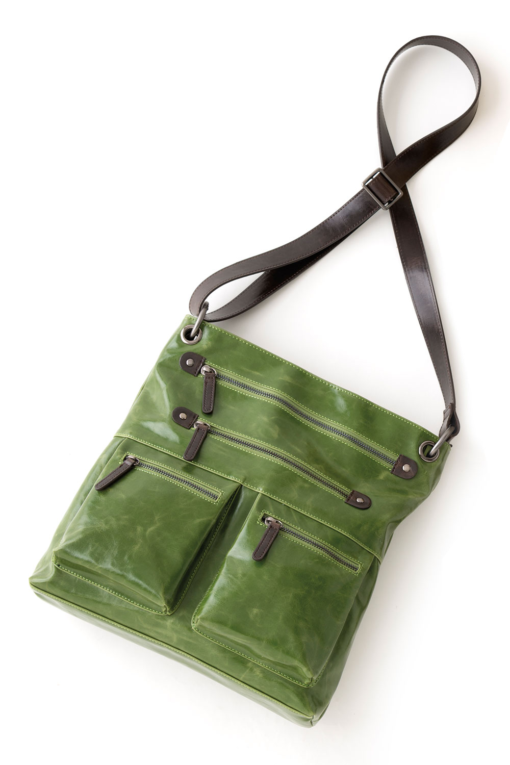 Shiraleah Handbags: Harper cross body bag - Leaf