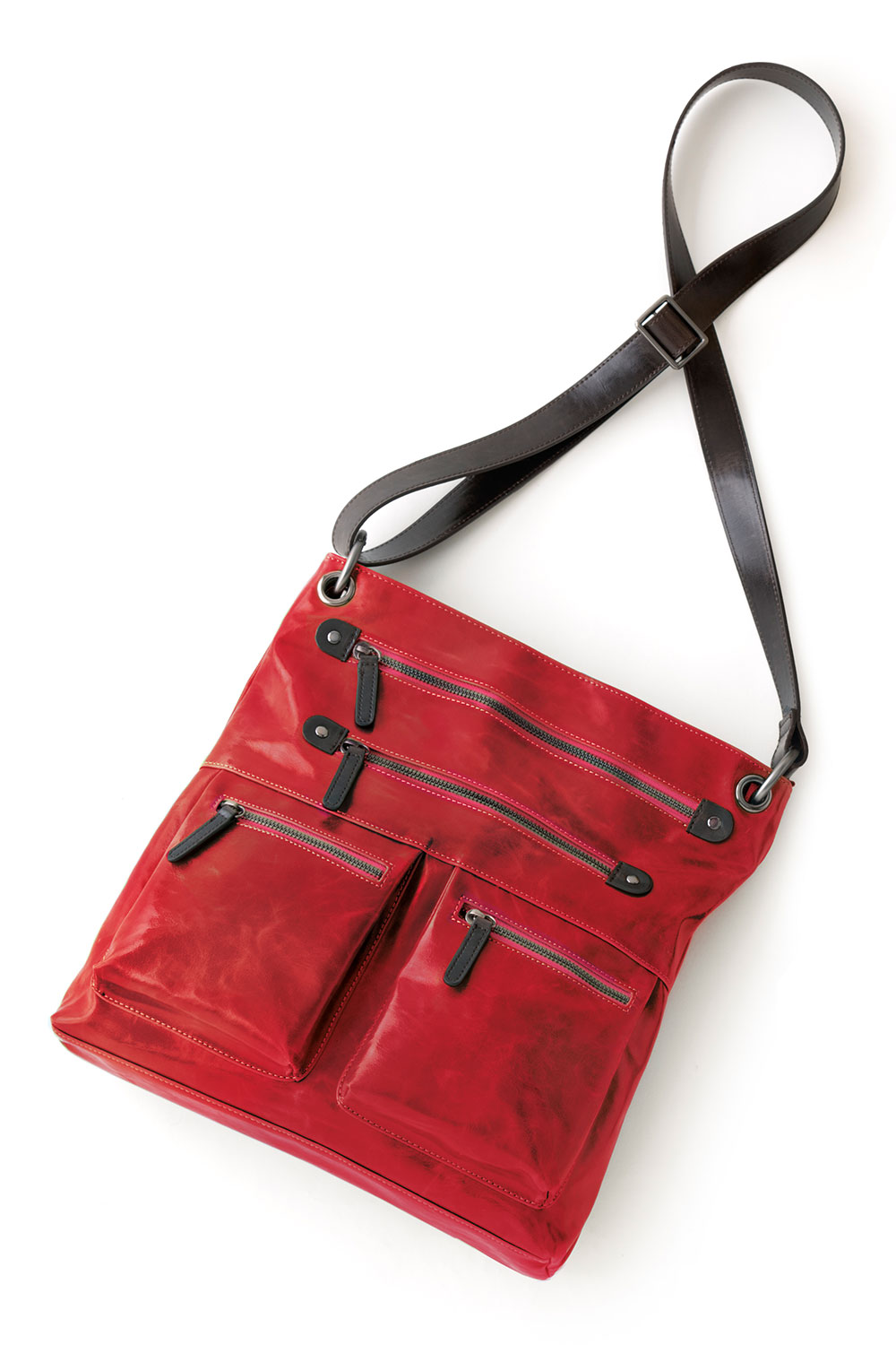Shiraleah Handbags: Harper cross body bag - Pomegranate
