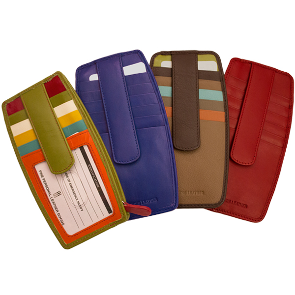 Credit Card Holder with Pocket