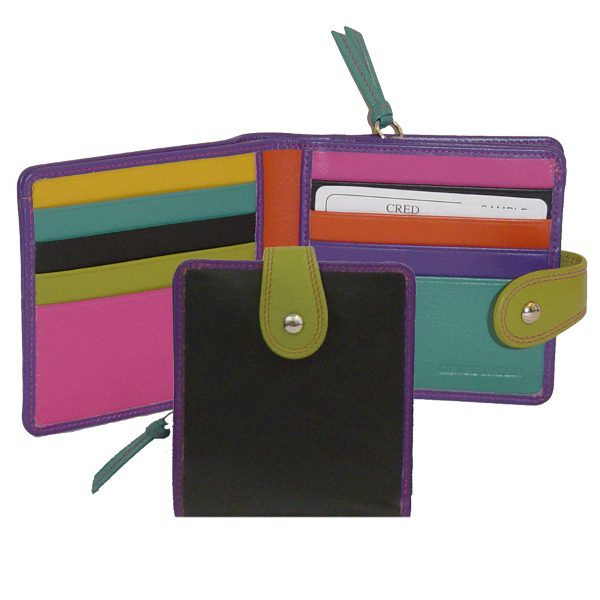 Wallet with Tab Closure