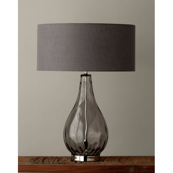 Cameron Table Lamp Smoke