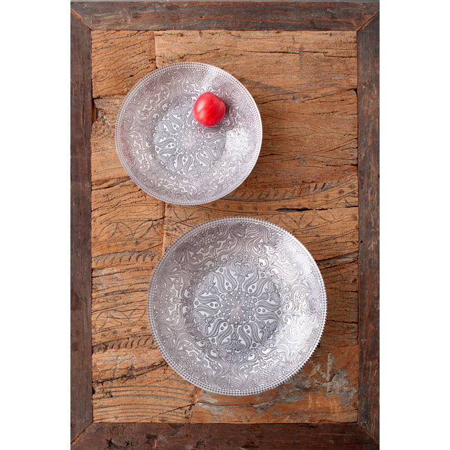 Jaipur Bowl Pewter