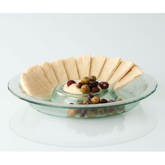 Shiraleah Home Accessories: chip and dip dish - clear